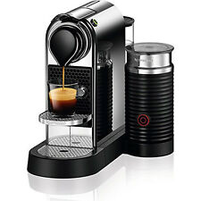 Nespresso CitiZ & Milk Espresso Maker (Chrome)