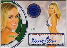 2013 BENCHWARMER VEGAS BABY AUTO: MICHELLE BAENA #4/7 AUTOGRAPH PLAYBOY COVER
