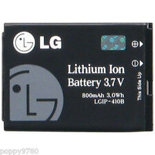 New LG LGIP-410B Original OEM 800mAh 3.7V Li-Ion SBPL0085608 Cell Phone Battery