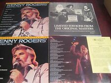 KENNY ROGERS GREATEST HITS MFSL Japan 1/2 SPEED MASTERED AUDIOPHILE LP 2 LP SET