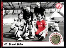 Richard Weber Autogrammkarte Rot Weiss Essen 2015-16 Original Sign+A 113005