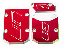 Losi DBXL Buggy and MT Monster Truck XL skid plate set By Jofer USA RC, Red