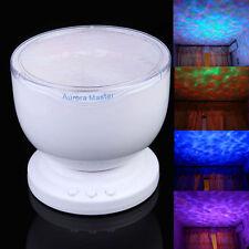 Romantic Aurora Master 7 Colorful LED Light Ocean Wave Projector Speaker Lamp