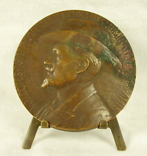 Médaille Jacques Isnardon bass-baritone writer voice teacher Chanteur 68mm Medal