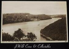 Old Postcard of River Fal, King Harry Passage  (Gems of Cornish Scenery)