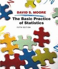 Used Book - THE BASIC PRACTICE OF STATISTICS - David Moore - Fifth Edition W/CD