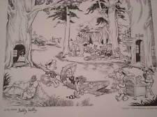 SELBY KELLY Signed Print, NM,1978, National Cartoonists Society, Limited, Pogo