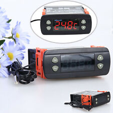 WILLHI 10A/220V Digital Temperature Controller Thermostat Wide Range -50 to 110℃