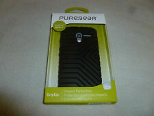 100X NEW CELL PHONE PUREGEAR MOTOROLA MOTO X GRIPTEK BLACK CASE 60322PG LOT NIB