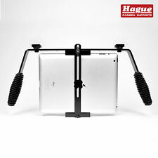 Hague Tablet Grip for iPad, Samsung Galaxy + More. (TS1) Universal Tablet Mount