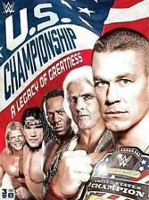 WWE Wrestling U.S. Championship A Legacy Of Greatness DVD Brand NEW Cena Flair