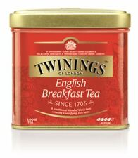 TWININGS ENGLISH BREAKFAST Loose Tea Tin 100g 3.5oz
