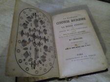 livre rare ancien la parfaite cuisinière bourgeoise par Mlle Madeleine