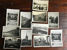 Circa 11 x FOTO, wk2, la raccolta, rimanenze, Narvik, Norvegia, (N) 735