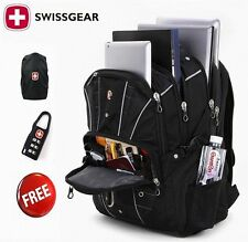 "17"" Wenger Waterproof Swiss Gear Men Travel Bag Macbook laptop hike backpack"