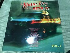 "V/A MOTOR CITY DETROIT VOL 1 12"" LP DOUBLE PACK SPAIN SOUL MARVELETTES CONTOURS"