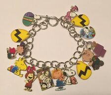 Charlie Brown Easter Bracelet Snoopy Woodstock & Friends Spring Charms