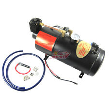NEW Air Compressor with 3 Liter Tank for Air Horn Train Truck RV Pickup 150 PSI