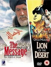 [DVD] The Message / Lion Of The Desert (Double Disc Set) *Discs Only*