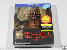 The Hobbit 3D+2D Blu-ray Steelbook [Singapore]WITH 68 PAGE BOOK!!! 100 PRINT!!!