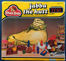 Vintage Kenner Star Wars (1983) Jabba the Hutt Play-Doh in Factory SEALED Box