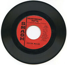 ROGER MILLER Heartbreak Hotel / Less And Less 1966 US Smash 2066 45rpm