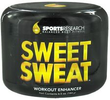Sports Research SWEET SWEAT Workout Enhancer 6.5 oz Jar BURN FAT, FIGHT FATIQUE