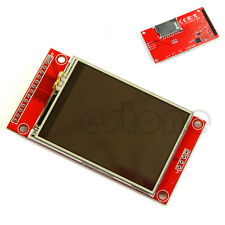 "LCD Touch Panel 240x320 2.4"" SPI TFT Serial Port Module With PBC ILI9341 3.3V/5V"