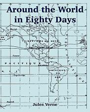 Around the World in 80 Days by Jules Verne (2004, Paperback, Large Type)