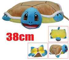"Anime Pokemon SQUIRTLE 18"" Plush Pillow Pet Solf Cushion Doll Toy Gift New"
