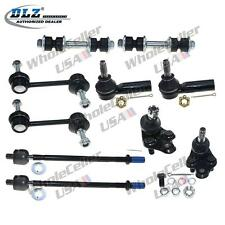 10 Pcs Suspension Kit for 88-92 Toyota Corolla Ball Joint Tie Rod Ends Sway Bar