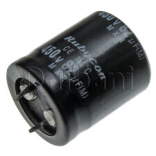 New Snap In 2 Pin Capacitor 450V 82UF 25mm Diameter 30mm Height