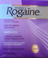 Women's Rogaine Treatment 3 Month Supply Hair Regrowth