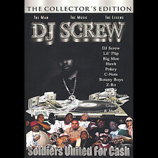 Soldiers United 4 Cash DVD by DJ Screw (CD, Mar-2005, REL)