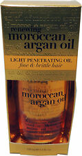 Organix Renewing Moroccan Argan Oil Light Penetrating Oil Fine Brittle Dry Hair