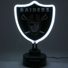 Oakland Raiders Team Logo Neon Light - NFL