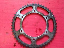Honda XR 250 Off Year 1986 XR250R rear sprocket