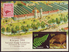 NEW ZEALAND 2006 KIWIPEX MINIATURE SHEET FINE USED