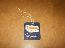 Ancienne ÉTIQUETTE A BAGAGE / vintage LUGGAGE LABEL - AMERICAN AIRLINES - 50's