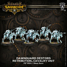 Warmachine BNIB - Scyrah - Retribution Dawnguard Destor Cavalry (5)