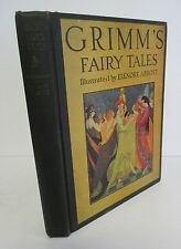 GRIMM'S FAIRY TALES Selected & Illustrated by Elenore Abbott, 1945
