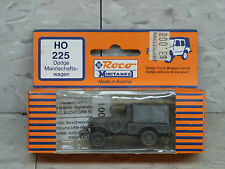 Roco / Herpa Minitanks (NEW) WWII US Dodge 4x4 3/4 T Weapons Carrier Lot #173K