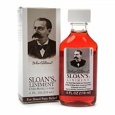 Sloan's Liniment For Hand Pain Relief 4oz Each