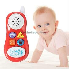 Musical Phone Toy Sound Learning Study Educational Toys for Toddler Baby Kids VF