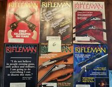 American Rifleman Magazine lot of 6  Colt Ruger Smith Wesson