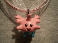 Pokemon Corsola Anime Figure Charm Necklace Cool Kawaii Cute Collectible Jewelry