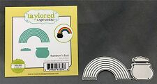 RAINBOW'S END die set TE525 Taylored Expressions Dies St. Patrick's Day pot gold