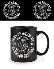 SONS OF ANARCHY - REDWOOD MUG GIFT BOXED NEW 100 % OFFICIAL MERCHANDISE