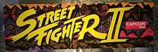 "Street Fighter II Arcade Marquee 26""x8"""