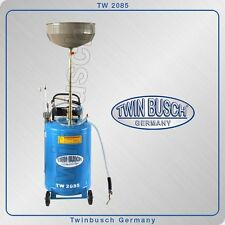 Twin Busch ® Oil drain tank - collection container and exhauster - TW 2085